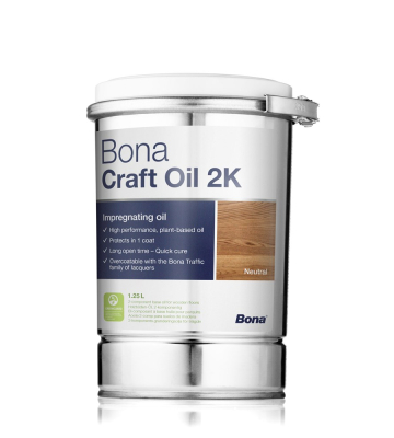 Bona Craft Oil 2K Neutral (Pure) 1,25 Liter