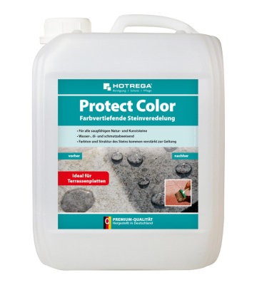 HOTREGA Protect Color 3 x 5 Liter farbvertiefende Steinveredelung