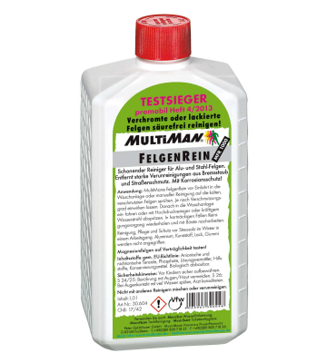 MultiMan FelgenRein 1000 ml MFR 1000