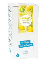 SODASAN Flüssigseife Liquid Citrus-Olive 5 Liter Bag in Box