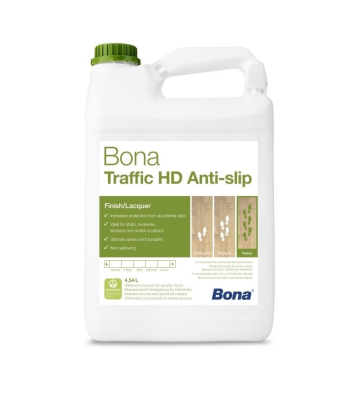 Bona TRAFFIC HD Antislip 2K, 4,5 Liter + 0,45 Härter...