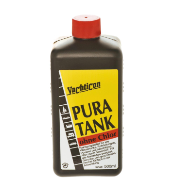 YACHTICON Pura Tank Tankdesinfektion 500 ml ohne Chlor Wassertank Reiniger