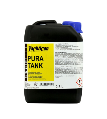 YACHTICON Pura Tank Tankdesinfektion 2,5 Liter ohne Chlor...