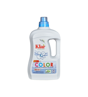 KLAR COLOR Waschmittel flüssig 2 Liter (Basis sensitive)...