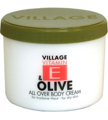 VILLAGE VITAMIN E Olive 500 ml Bodycream Körperlotion