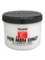 VILLAGE VITAMIN E Bodycream For Men Only 500 ml Körperlotion