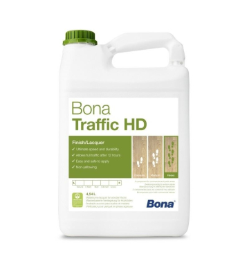Bona TRAFFIC HD matt 4,5 Liter + 0,45 L Härter