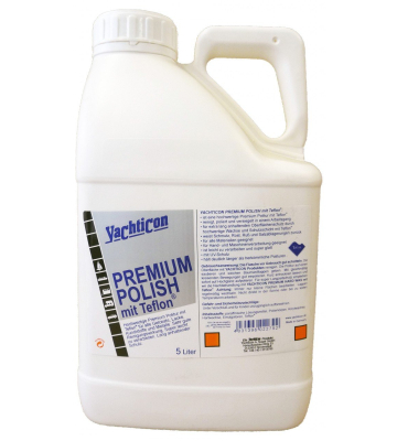 YACHTICON Premium Polish 5 Liter mit Teflon surface protector