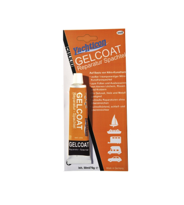 YACHTICON Gelcoat Reparatur Spachtel weiß 70 g in der Tube