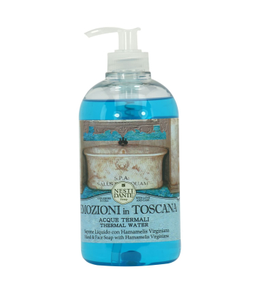 NESTI DANTE Liquid Soap Emozioni in Toscana THERMAL WATERS 500 ml Flüssigseife