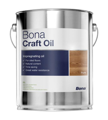 Bona Craft Oil PURE (5 Liter) farblos