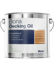 Bona Decking Oil Neutral 2,5 Liter Holzbodenöl...