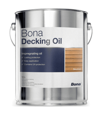 Bona Decking Oil Neutral 10 Liter